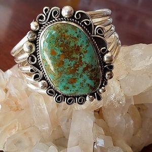 Jewelry - Stunning Huge Sterling Chunky Cuff